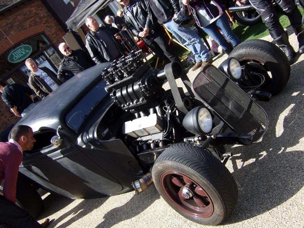 baldock high st car meet , rat , HOT ROD , by Sceptre63