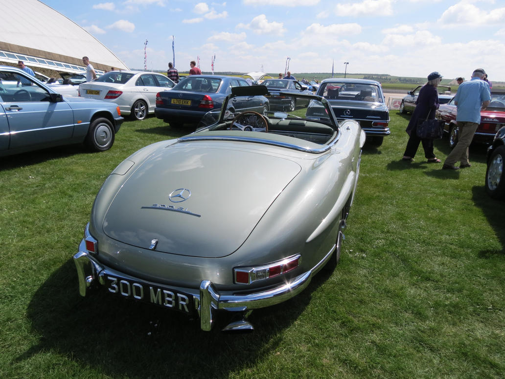 merc ,300sl, spring car show Duxford, by Sceptre63