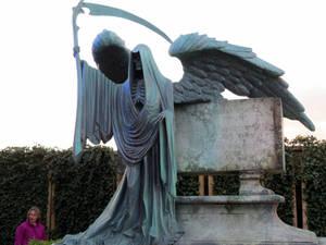 HARRY POTTER studio sets tour ,tomas riddle,s tomb by Sceptre63