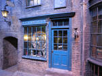 HARRY POTTER studio sets tour , dyagon alley