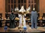 hogwarts Great hall film set tour details costumes