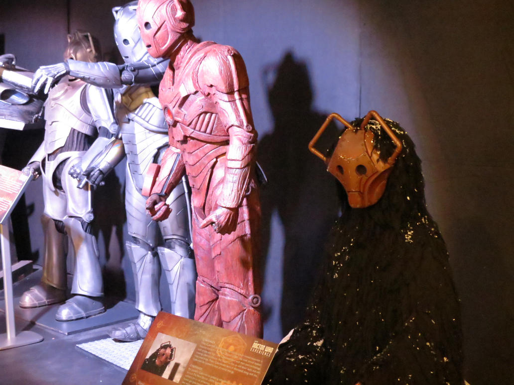 doctor who props and  sets cardiff cybermen by Sceptre63
