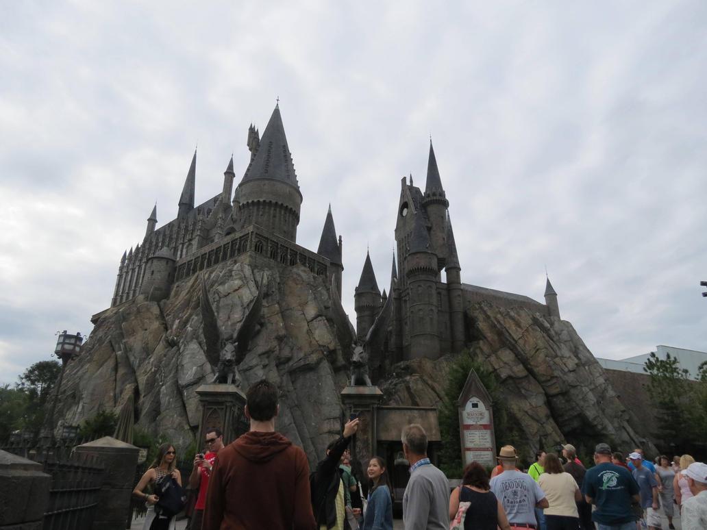hogwarts . hogsmeade village harry potter ride by Sceptre63