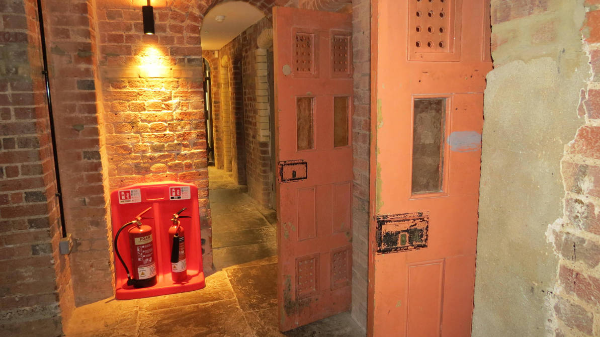 old cells at old court house museum st albans by Sceptre63