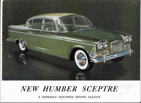 humber sceptre mk1a 1963 brochure date stamped