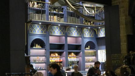 harry potter film studio shops veiw