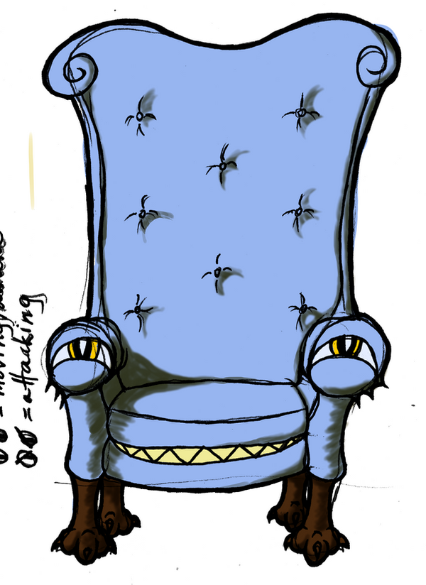 Mimic - Chair-form by AngelicDirt