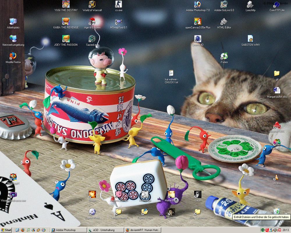 Pikmin Desktop by Giolein