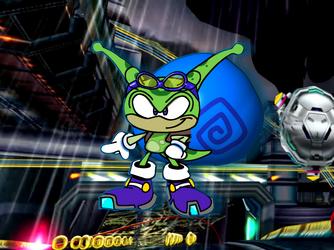 Sammy the Snail (Sonic Riders: Zero Gravity)