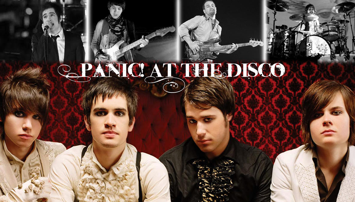 Panic At The Disco wallpaper by clichecladPanic At The Disco Logo Wallpaper