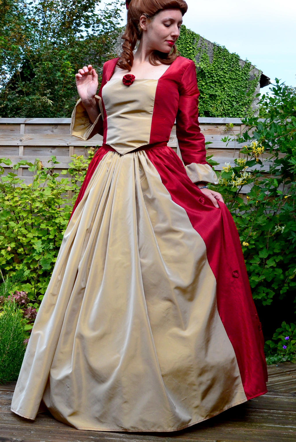 Belle Christmas Dress by Pomm3Cosplay on DeviantArt