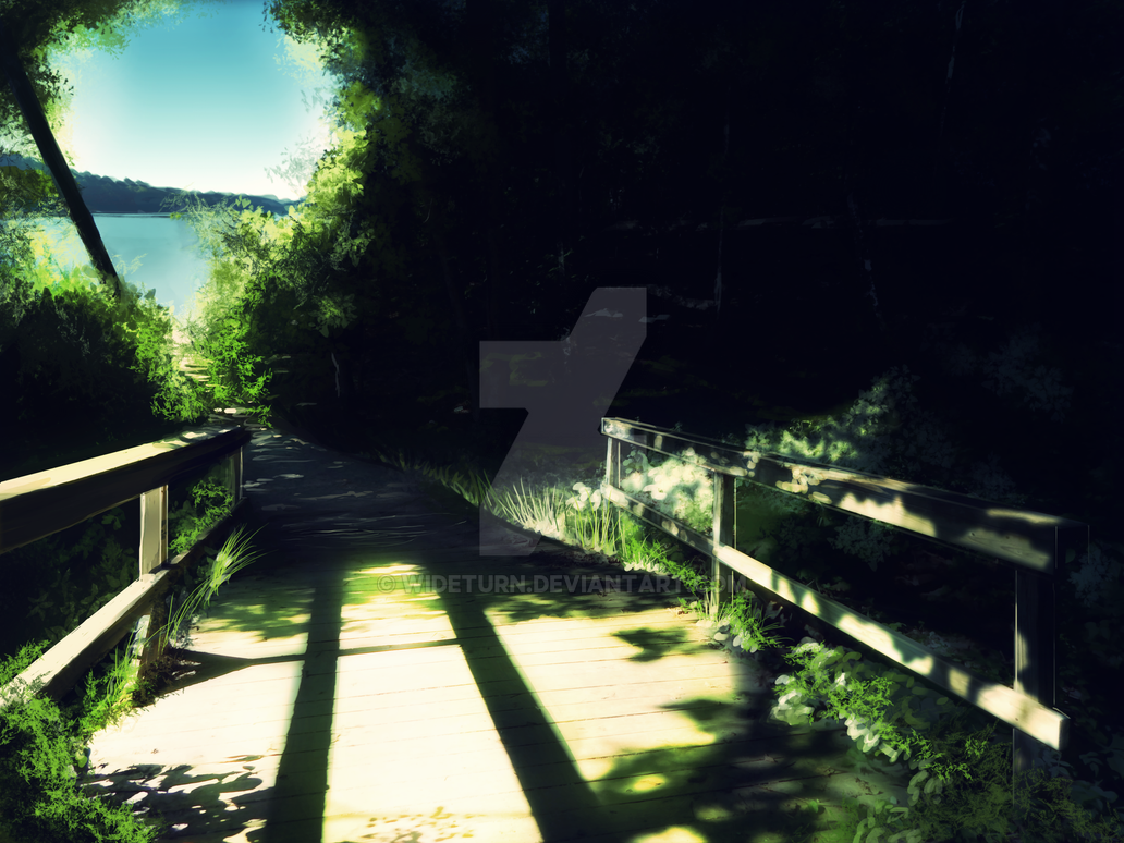 Forest Bridge by wideturn