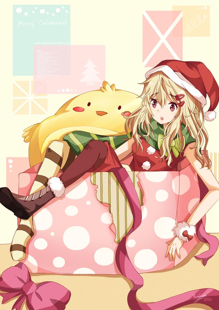 Miss Santa by YUMI-09