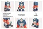 POPFOLD - Optimus Prime