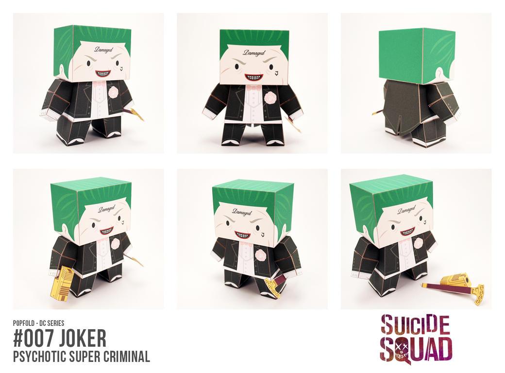 POPFOLD (DC) - #007 JOKER by CubieCal