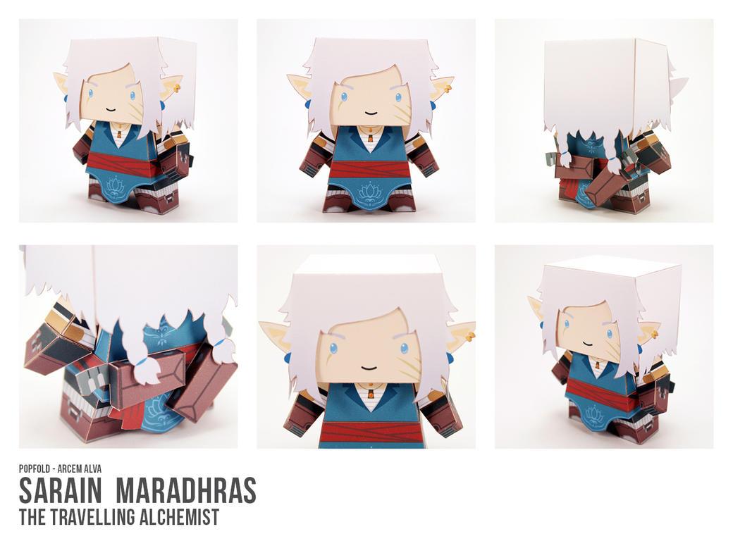 Secret Santa AA - Sarain Maradhras by CubieCal