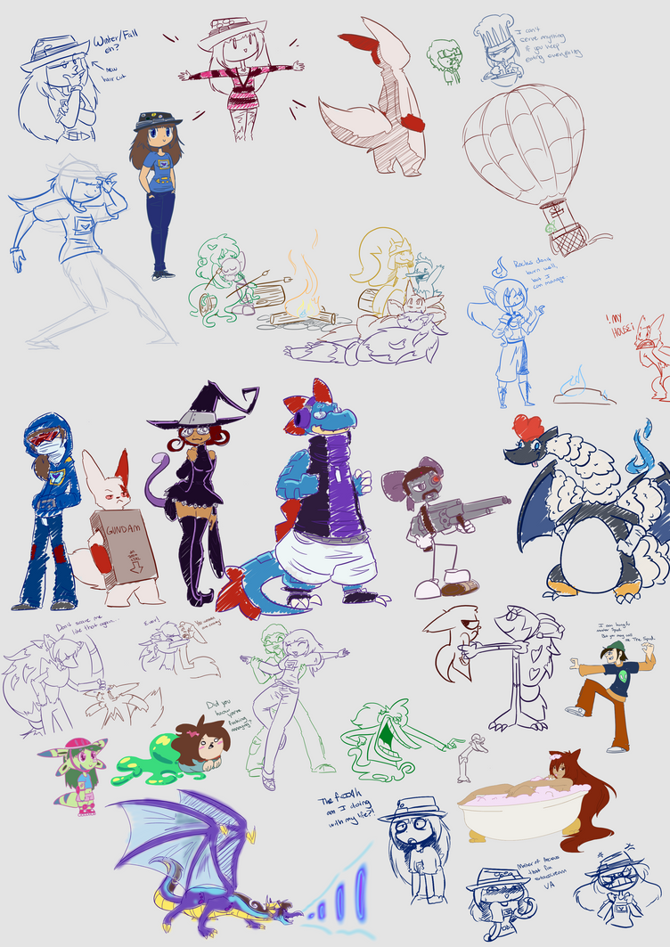 Doodle Dumps 11 by Dipschtick