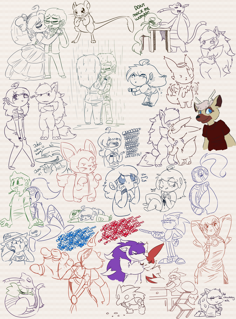 Doodles Dumps 23 by Dipschtick