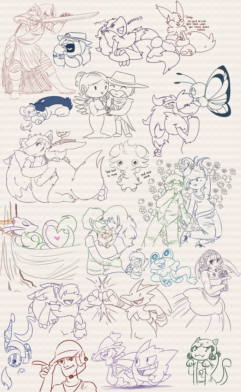 Doodle Dumps 24 by Dipschtick