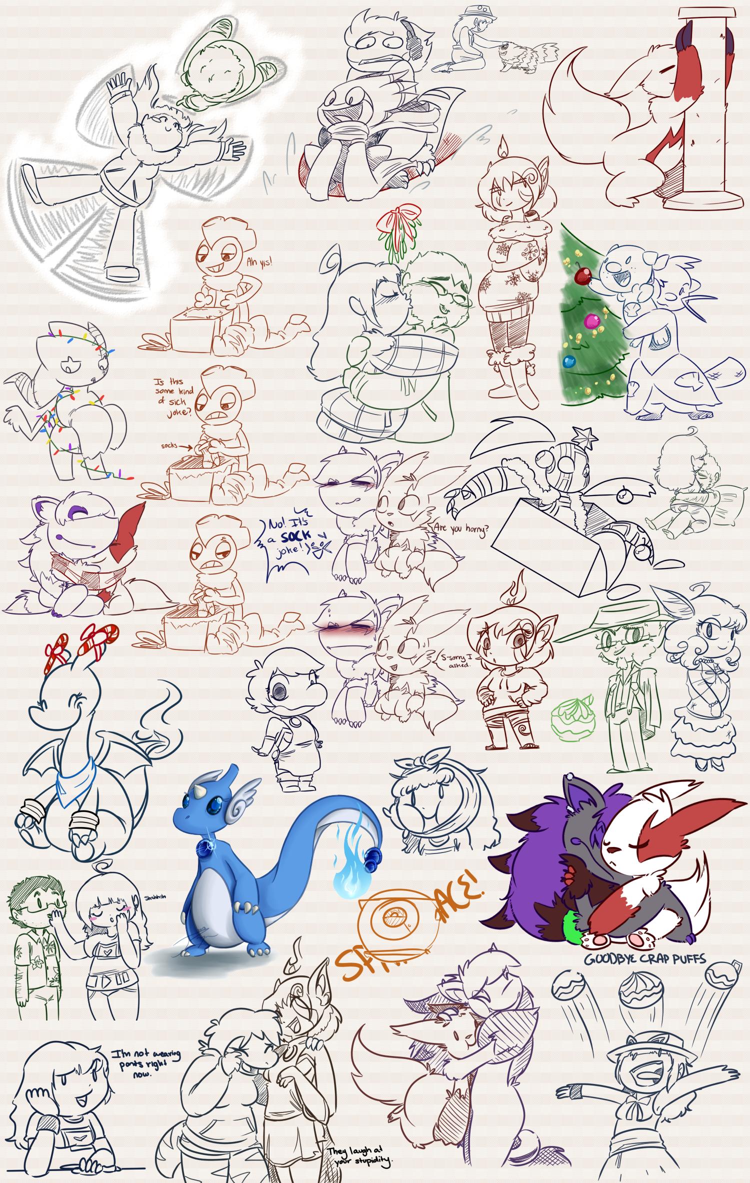 Doodle Dumps 27 by Dipschtick