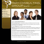 Rams Consulting Layout by blaquejag