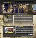 Concrete Jungle Website Layout by blaquejag