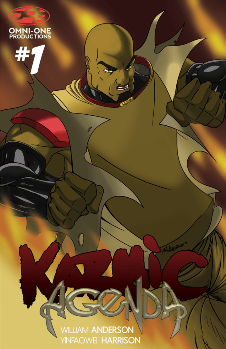 Karmic Agenda issue 1 cvr by blaquejag