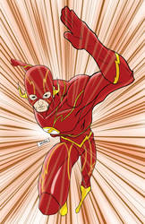 New 52 Flash by blaquejag