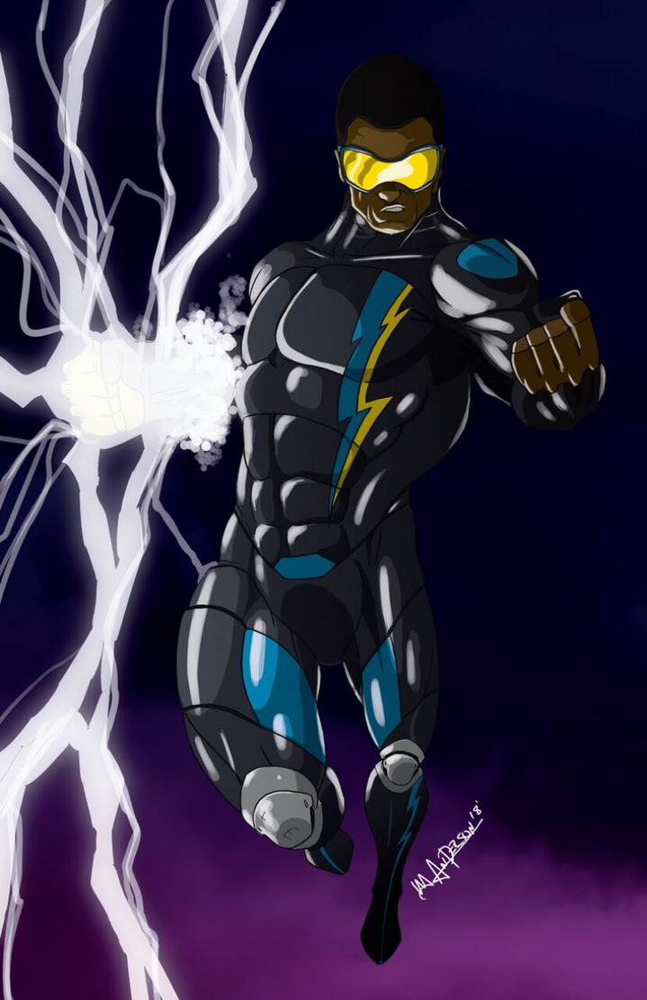 Black Lightning 2018 by blaquejag