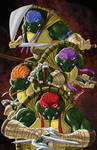 Teenage Mutant Ninja Turtles Print by blaquejag