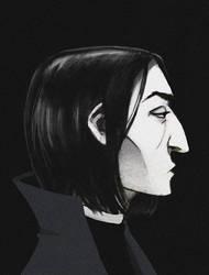 Snape by Kvasii