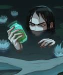 Gathering potion ingredients