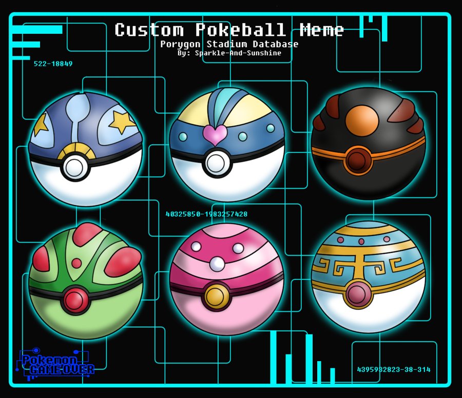 PGO Pokeball Meme - Hero by Sparkle-And-Sunshine