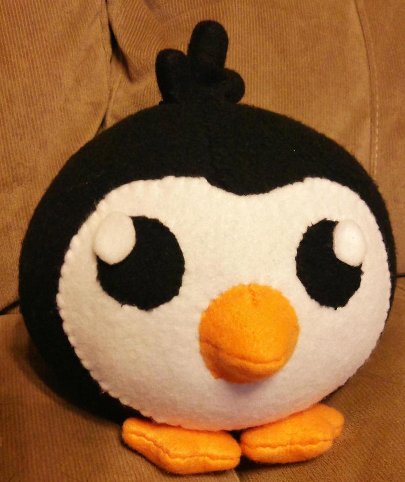 Penguin Plush - Commission by Sparkle-And-Sunshine