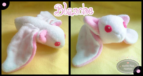 Little Litters - Blanche - Plush by Sparkle-And-Sunshine