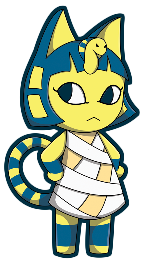 Ankha animal crossing