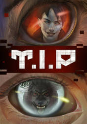 T.I.Person Comic Cover -   Eye to Eye with Beast