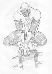 Lucha Night Crawler by Joe-Becker