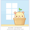 Sprouting Bear by smilerecipe
