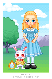 Pixel Alice by smilerecipe