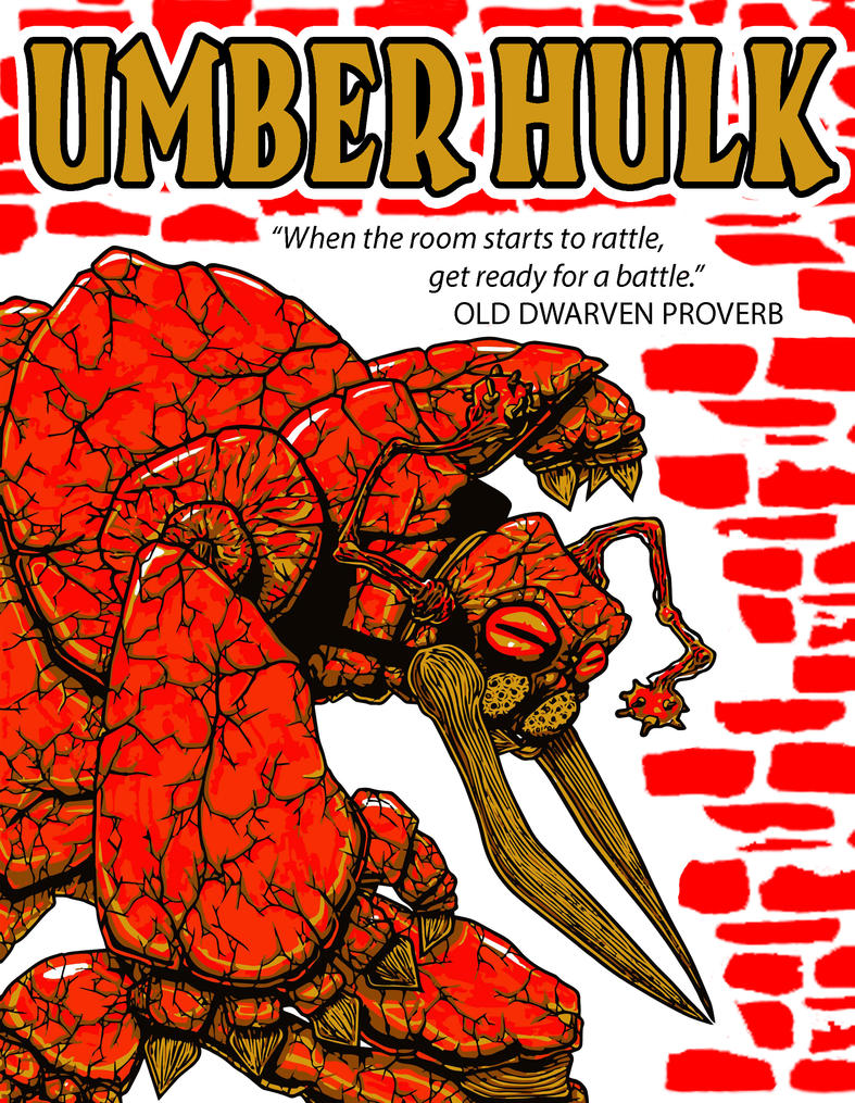 Umber Hulk DESIGN 2 by falconire
