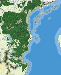 Newfound Realms - East Coast Map