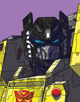Portrait of an Autobot