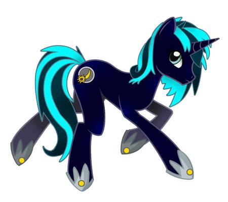 Moonlight Silk, grown up mare