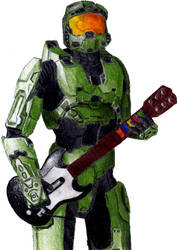 Guitar Halo by SeiferErik