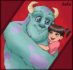 Monsters Inc. - Daddykitty