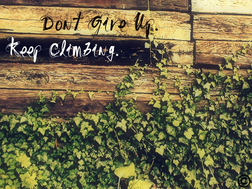 Encouragement. by hankjayne