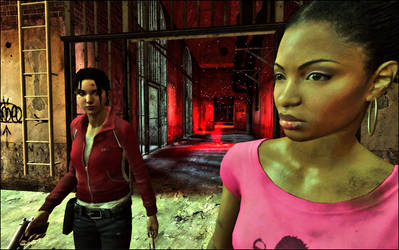 L4D Zoey and Rochelle