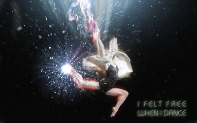i feel free when i dance