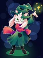 Ralsei ~ Fluffy Boi by Linvidia